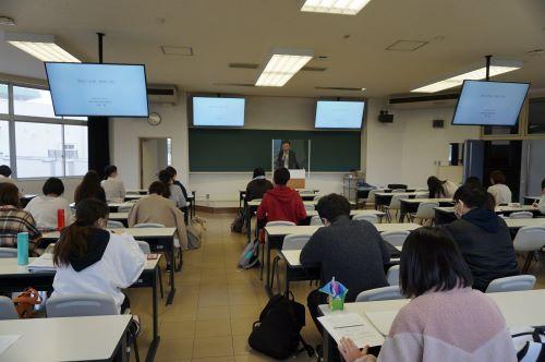 関係行政論の第2回目授業が行われました。