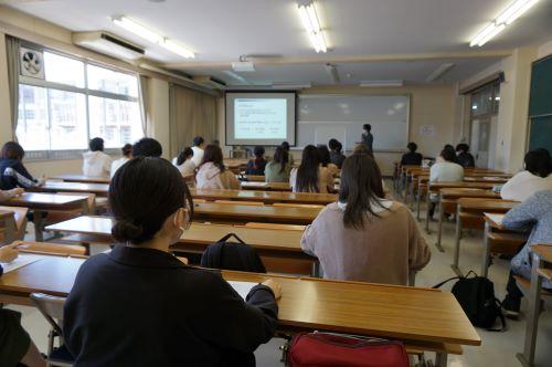 大学院進学説明会が行われました。