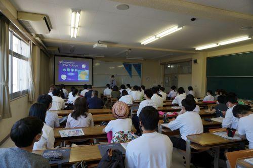 8月のオープンキャンパスが行われました。
